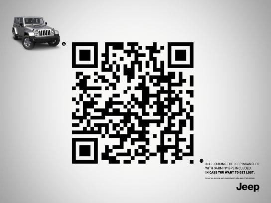 Jeep Print Ad -  GPS