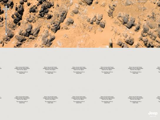 Jeep Print Ad -  Desert