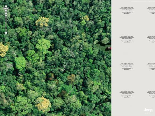 Jeep Print Ad -  Jungle