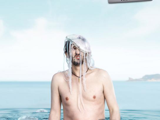 La Provence Print Ad -  Jellyfish