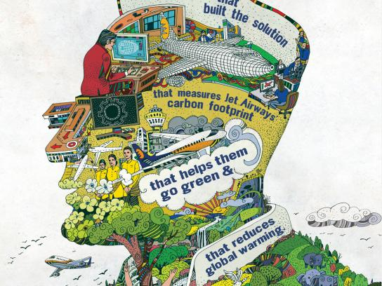 IBM Print Ad -  Jet Airways