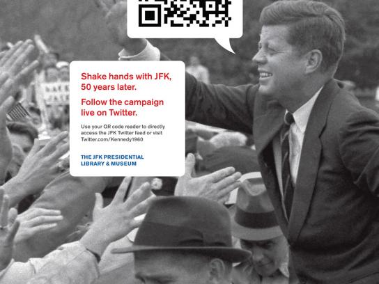 The JFK Presidential Library and Museum Print Ad -  Tweet, 3