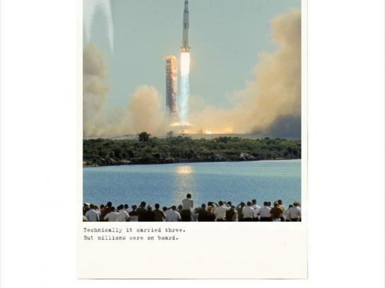 The JFK Presidential Library and Museum Print Ad -  Moon landing, 3