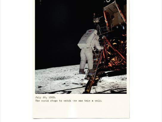 The JFK Presidential Library and Museum Print Ad -  Moon landing, 4
