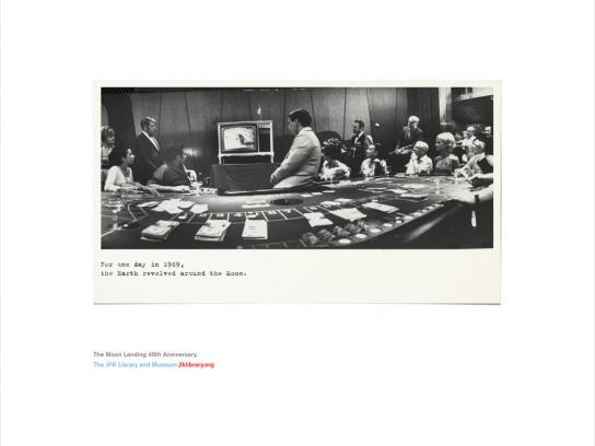 The JFK Presidential Library and Museum Print Advert By ...
