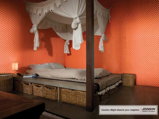 Jissbon Print Ad -  Bedroom
