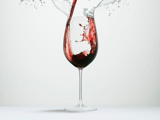 OMO Print Ad -  Splash, Wine