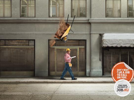 job.ru Print Ad -  Fall, Constructor
