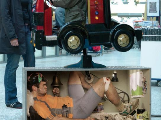 jobsintown.de Print Ad -  Truck