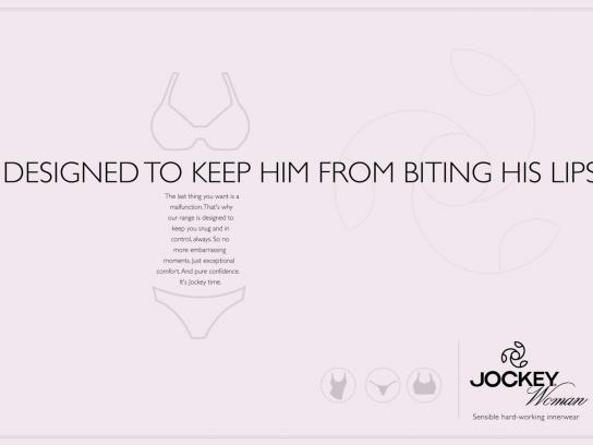 Jockey Print Ad -  Lips