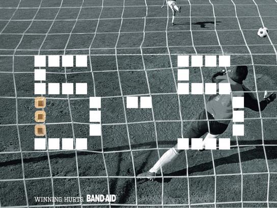 Band Aid Print Ad -  Score, 2