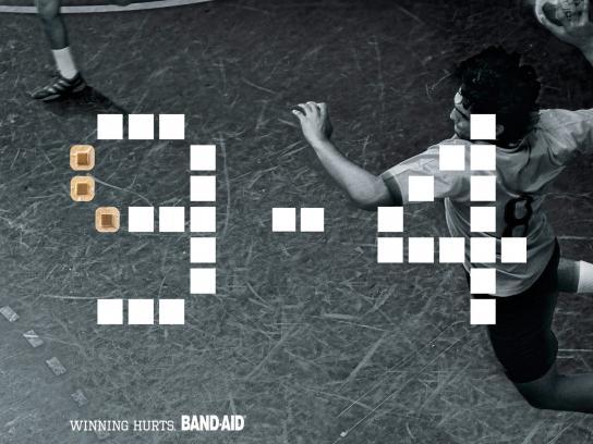 Band Aid Print Ad -  Score, 3