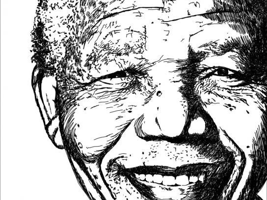 Jornal O Povo Print Ad -  Mandela