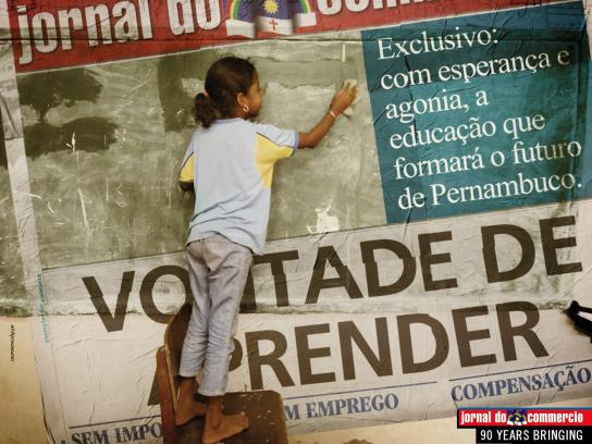 Jornal do Commercio Print Ad -  90 years, 3
