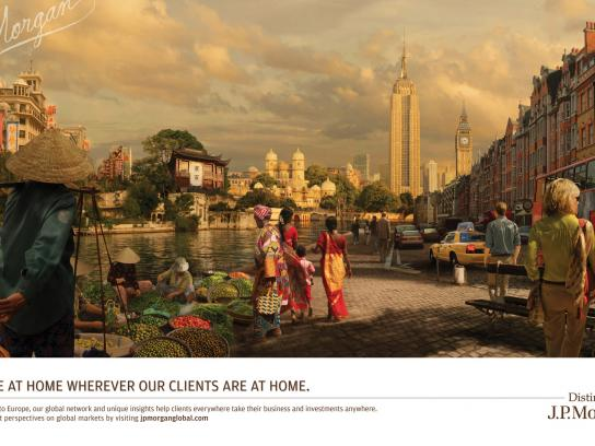 JPMorgan Chase Print Ad -  Global Street