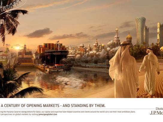 JPMorgan Chase Print Ad -  Panama/Russia/Qatar