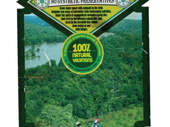 Jungle Lodges and Resorts Print Ad -  Labels, 1