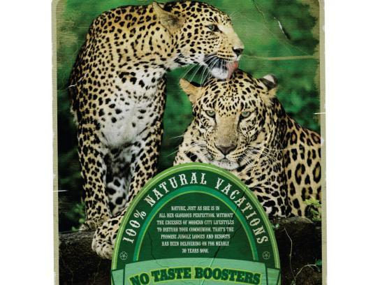 Jungle Lodges and Resorts Print Ad -  Labels, 2