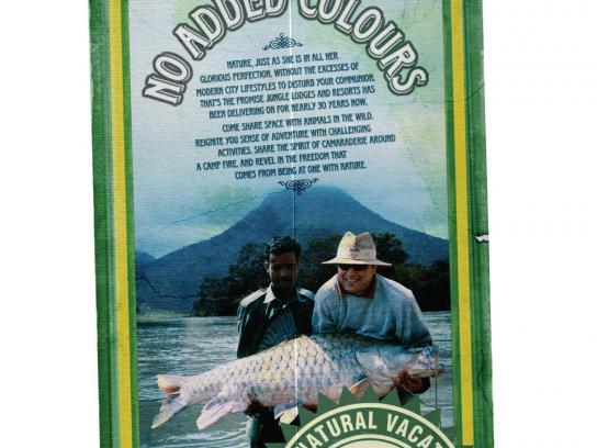 Jungle Lodges and Resorts Print Ad -  Labels, 3
