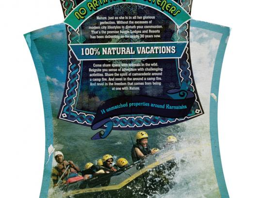 Jungle Lodges and Resorts Print Ad -  Labels, 4