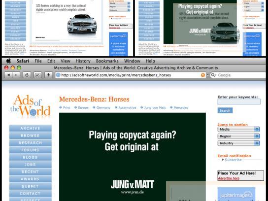 Jung von Matt Digital Ad -  Ads of the World hack