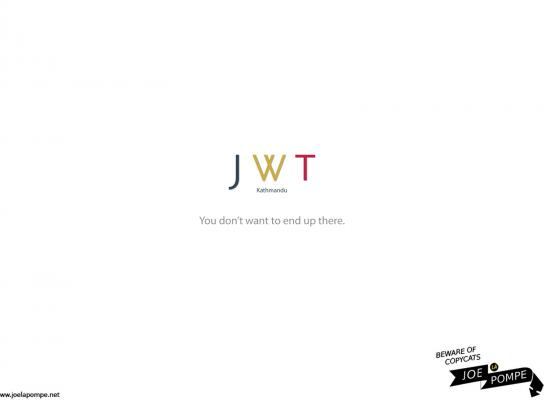 Joelapompe.net Print Ad -  JWT