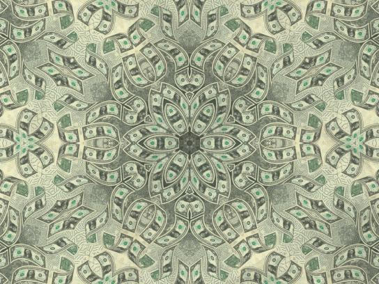 New York Lottery Print Ad -  Money Vault Multiplier, Kaleidoscope, 1