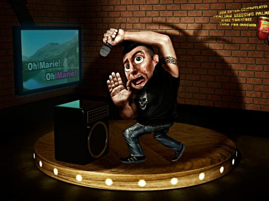 Palmeiron Print Ad -  Karaoke