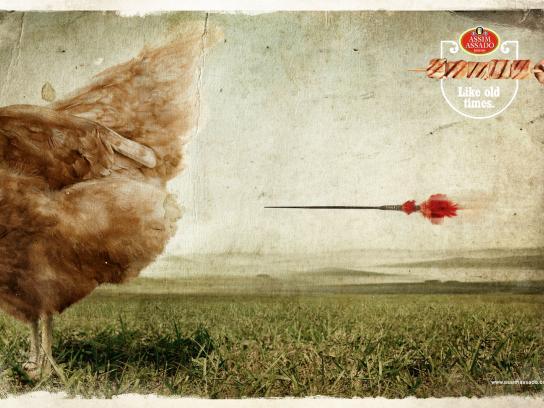 Assim Assado Restaurant Print Ad -  Chicken