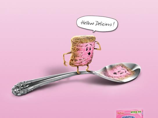 Kellogg's Print Ad -  Strawberry