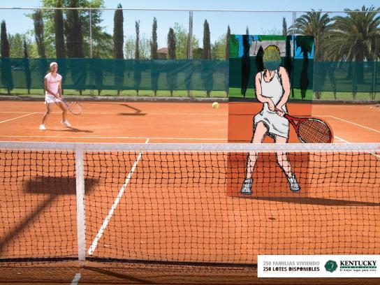 Kentucky Country Club Print Ad -  Tennis