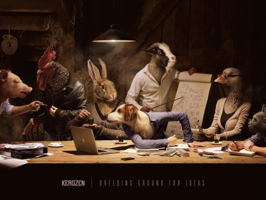Kerozen Print Ad -  Breeding ground for ideas