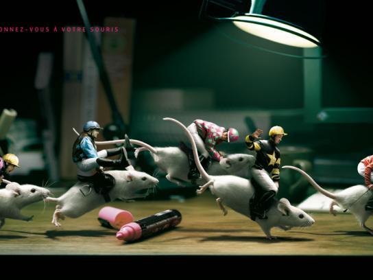 Kerozen Print Ad -  Mice