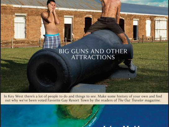 Florida Keys Print Ad -  Big guns