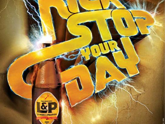 L&P Outdoor Ad -  Kick stop