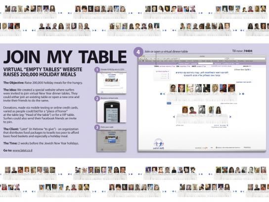 Latet Digital Ad -  Join my table
