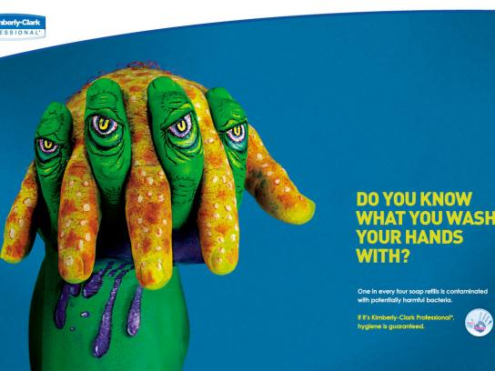 Kimberly-Clark Print Ad -  Monster, 1