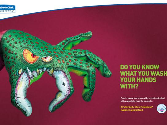 Kimberly-Clark Print Ad -  Monster, 2