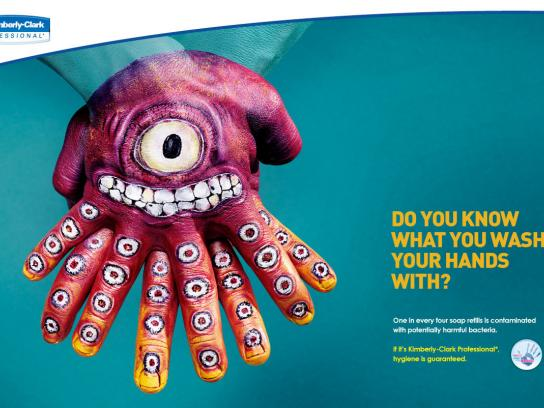 Kimberly-Clark Print Ad -  Monster, 3