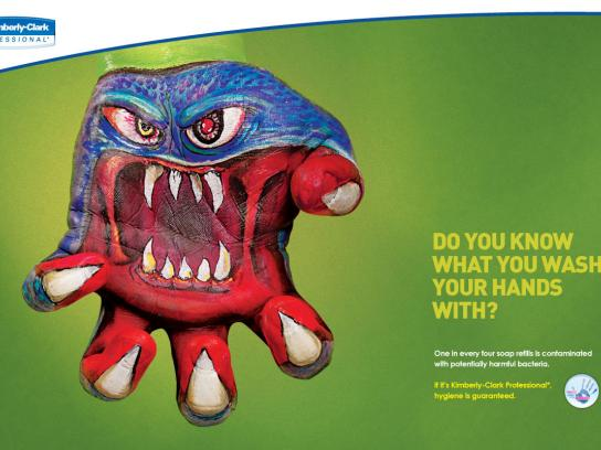Kimberly-Clark Print Ad -  Monster, 4