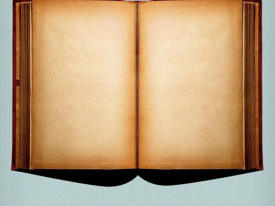 Kindle Print Ad -  Book