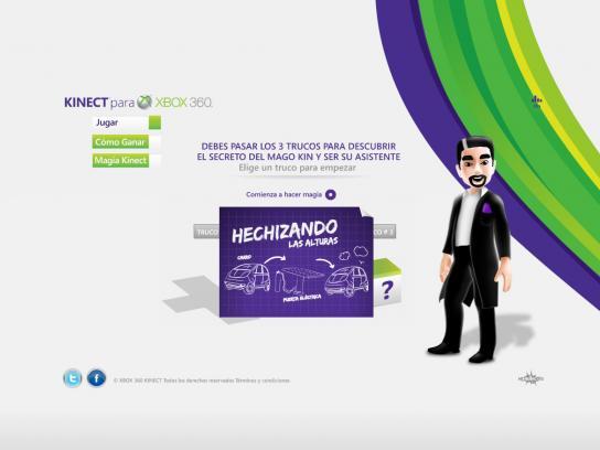 Xbox Digital Ad -  Kin the Magician
