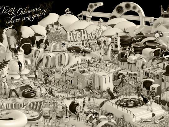 KISS FM Print Ad -  Ozzy Osbourne