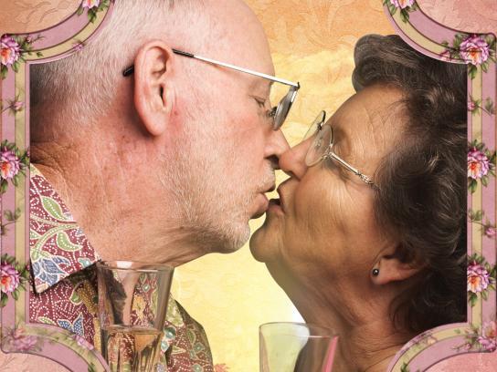 Alzheimer's disease support center Print Ad -  Kiss