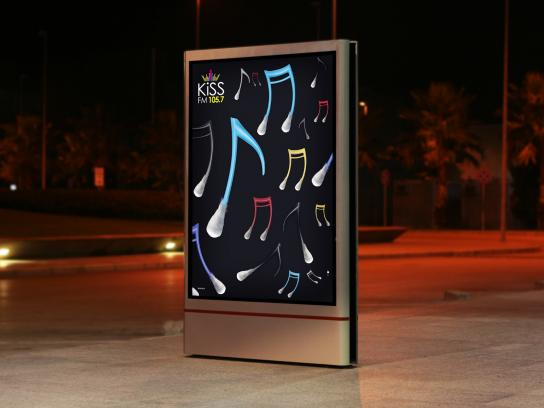 KISS FM Outdoor Ad -  Open your ears