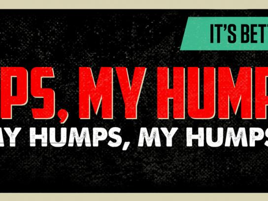 KISS FM Outdoor Ad -  Humps