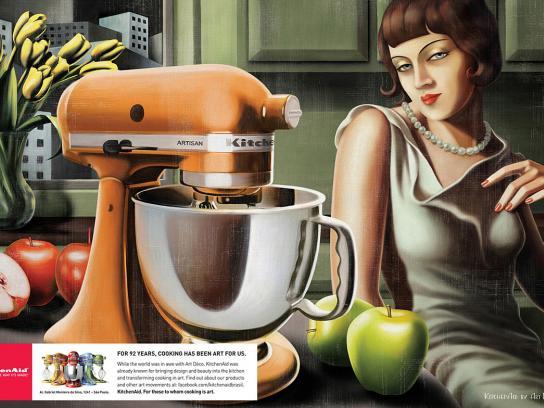 Whirlpool Print Ad -  Art Deco