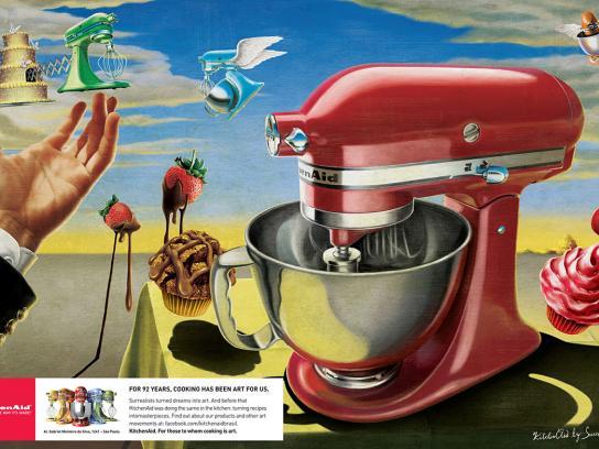 Whirlpool Print Ad -  Surrealism