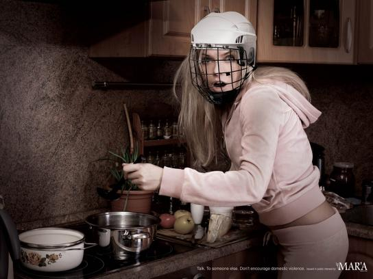 Al Mar'a Print Ad -  Kitchen
