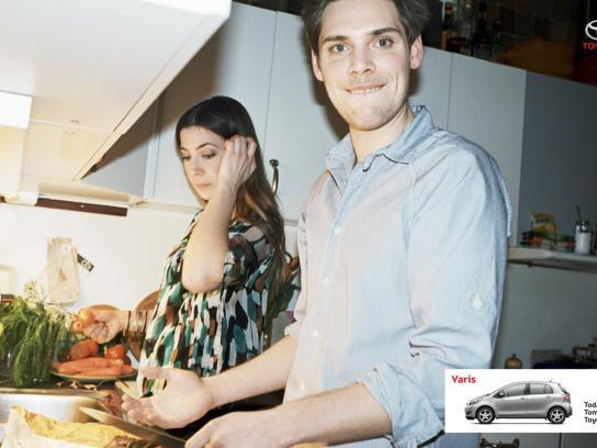 Toyota Print Ad -  Kitchen